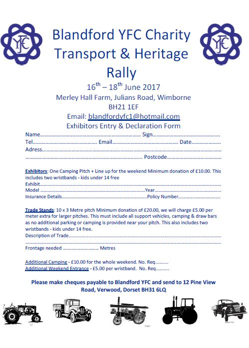 Blandford Rally June