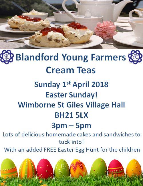Blandford YFC Cream Teas