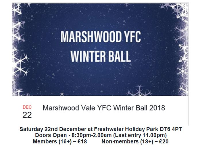Marshwood Vale Winter Ball