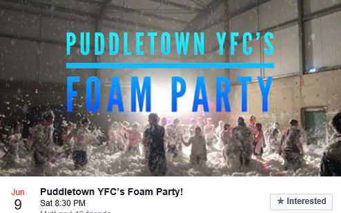 puddletown foam party