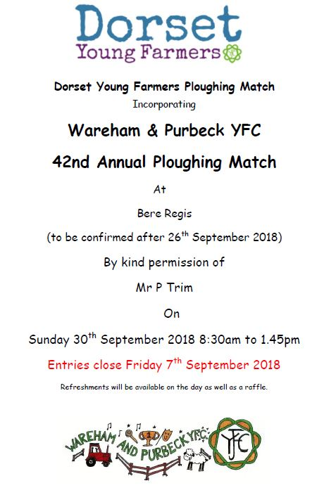 Dorset YFC Ploughing Match 2018