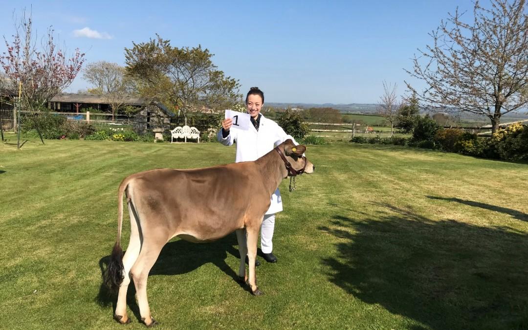 1st – Josie Dowding (Sherborne YFC) – Dairy Champion