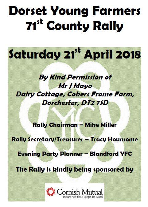 Rally 2018 poster
