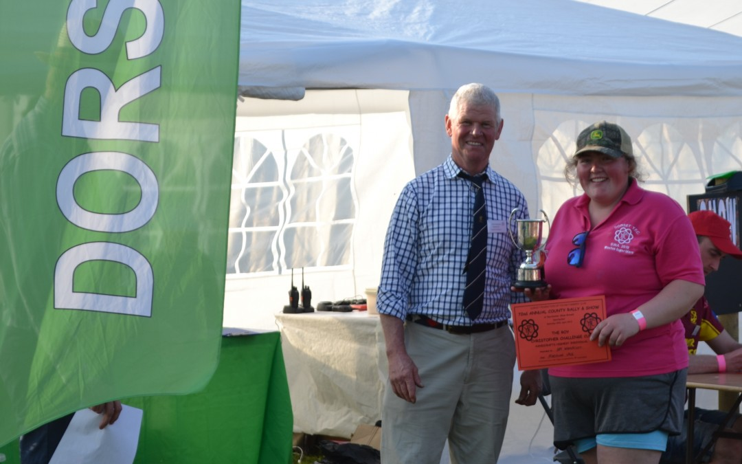 Roy Christopher Challenge Handicraft Highest Points Amy Wonnacott MV YFC