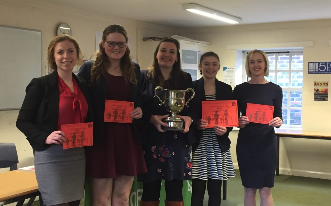 MACE Debating 2020 winners Puddletown YFC